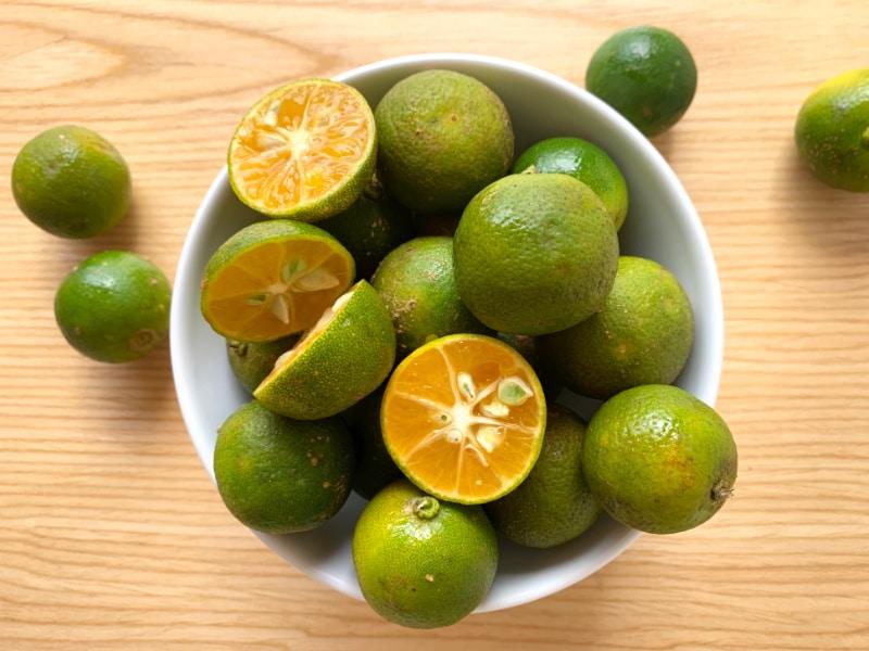 Detox with citrus fruits