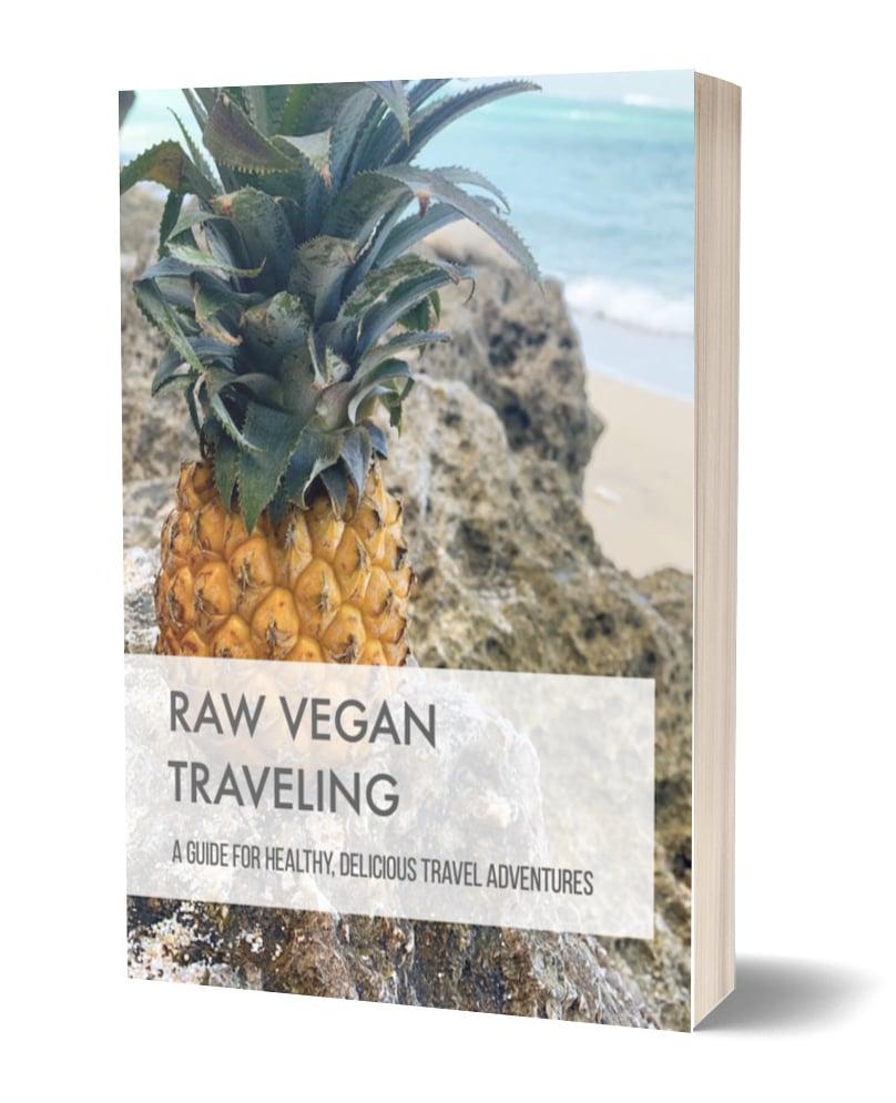 Raw Vegan Traveling Ebook Snippet