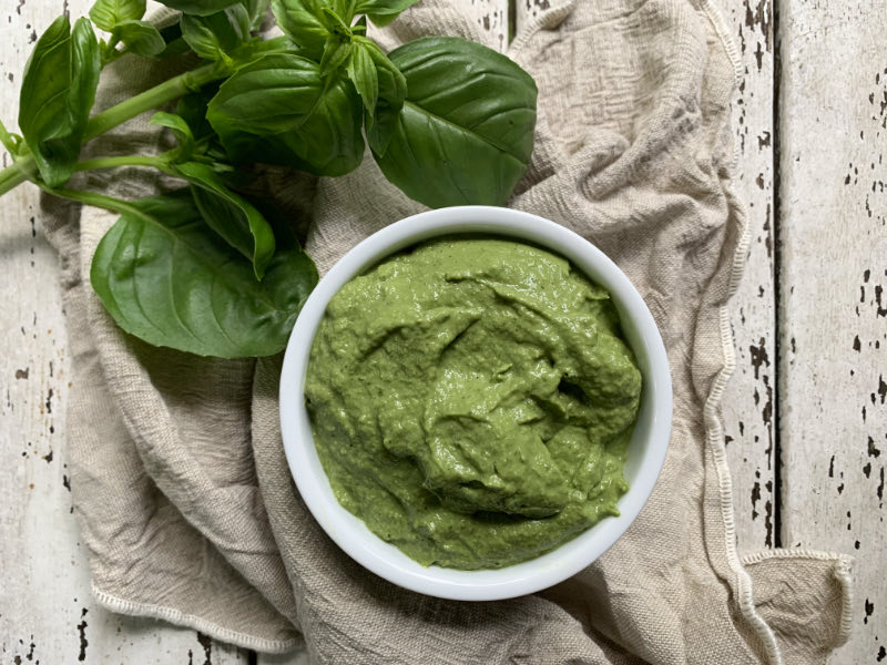 Vegan Basil Pesto