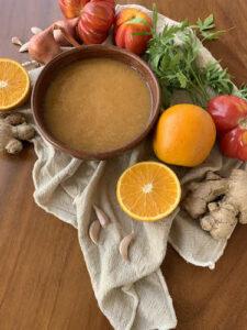 Raw Vegan Sweet Sour Dressing