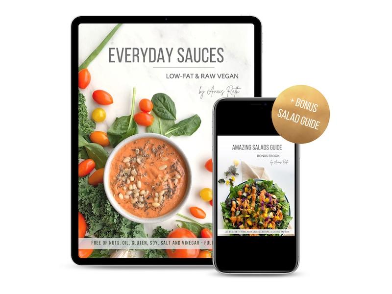 Everyday Sauces - Raw Vegan Ebook
